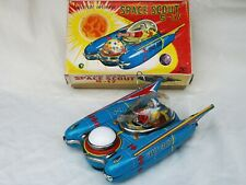 Yanoman Space Scout S-17 Blechspielzeug Tin Toy Japan Boxed Rare !