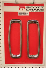 1967 - 1977 Ford  Bronco Tail Lamp Bezels Stainless Steel Looks Great