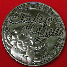 THINKING OF YOU LUCKY COIN nice gift