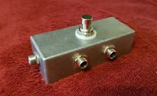 BYP1 Loop bypass pedal true bypass for guitar effects pedals no power required