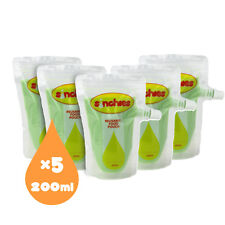 NEW Sinchies 200ml Reusable Food Pouches BPA Free Pack of 5 New Design Free Post