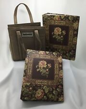 Sheffield Home Raymond Waites Two Floral Phone Albums With A Tote