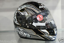 CASCO NOLAN N62 CLOUD METAL BLACK