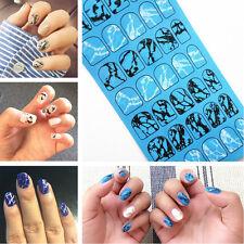1 Sheet Nail Art Water Transfer Decal Manicure Sticker Marble Grain Pattern Tips