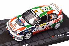 TOYOTA COROLLA WRC 1998 SAINZ MOYA 1ST MONTE CARLO RALLY 1998 1:43 ALTAYA RC29