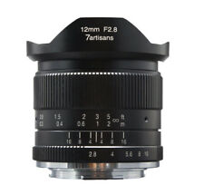 7artisans 12mm f/2.8 Wide Angle Lens for Canon EF-M mount APS-C EOS M M10 M5 M3