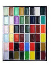 Kissho Gansai Tambi Watercolor Jananese Art Paint 48 Colors Set With Tracking