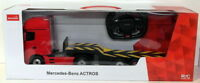 Rastar 1/26 Scale 74930 - Remote Control Truck - Mercedes Benz Actros - Red