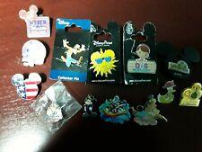 Lot of 13 various Disney Pins, Goofy, McStuffins, Hidden Mickey, Cast Exclusive!