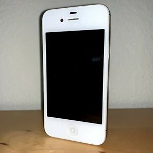 Genuine Apple iPhone 4s A1387 MF258LL/A (8GB, White, Unlocked) (CDMA + GSM)