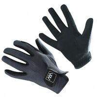 Woof Wear Event Gloves Black - Horse Riding Gloves