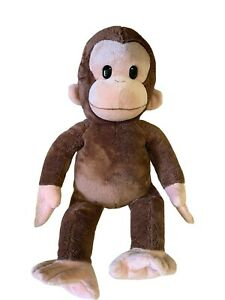 """Curious George Monkey Plush Toy Stuffed Animal Applause By Russ Berrie 16"""""""