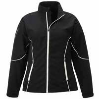 Page & Tuttle Free Swing Peached Windbreaker  Athletic   Outerwear Black Womens