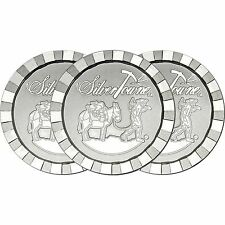 SilverTowne Stackables Trademark Prospector 1oz .999 Silver Medallion (3pc)