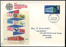 GB FDC 1969 Europa Worthing, Sussex IED #C 29016