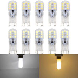1/5pcs Dimmable G9 5W LED Bulb Light Silicone Crystal Halogen Lamp 110V 220V