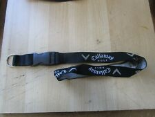 CALLAWAY GOLF LANYARD ID KEY HOLDER