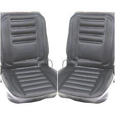 PAIR  12v Thermal Seat Cover Heated Pad Car Van Universal Cushion Pad + Adapter