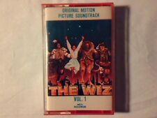 COLONNA SONORA The wiz vol. 1 mc cassette k7 ITALY RARA MAI SUONATA UNPLAYED!!!