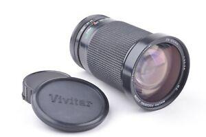 EXC++ VIVITAR 28-210mm F3.5-5.6 MACRO ZOOM LENS FOR CANON FD MOUNT, CAPS, NICE!