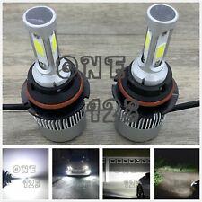 3 SIDE 9004 HB1 6000K White 8000LM CREE LED Headlight Bulb Kit High Low Beam NEW