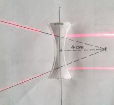 2pcs 49mm Optical Plastic Arcylic Focal Length -40mm Optics Double Concave Lens