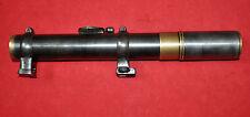 Antique RARE!German SKOPAR 5 Voigtländer/Braunschweig rifle scope w/mounts/bases