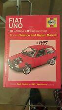 Haynes Service & Repair Manual No 923, Fiat Uno 1983 to 1995, 1.1, 1.3,1.4 litre