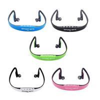 Sport Wireless Headset Headphone Earphone MP3 Music Player TF FM Radio NEW