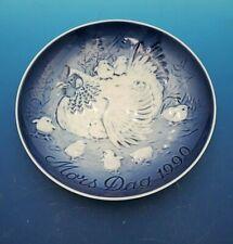 1990 Bing & Grondahl B&G Mother'S Day Plate Hen & Chicks