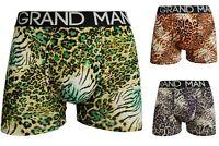 5 Grand Man Herren Boxershorts Unterwäsche Unterhose Underwear FC 009 M L XL 2XL