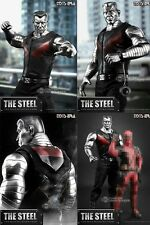 Colossus Toys Era 1/6 The Steel Figure New Marvel Deadpool (damaged shipper)