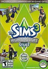Sims 3: High-End Loft Stuff (Windows/Mac, 2010) Rated T for Teen