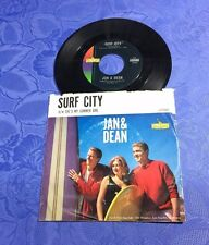 "JAN & DEAN (7"") SURF CITY / SHE´S MY SUMMER GIRL [US 1ST 1963 LIBERTY 45 SINGLE]"