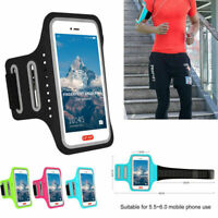 US Armband Bag Sports Running Jogging Gym Cell Phone Holder For iPhone Samsung