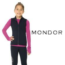 MONDOR® NEW Polartec Figure Skating Black Sleeveless JACKET / VEST