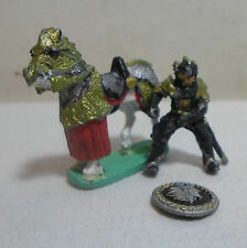 RAL PARTHA VTG FANTASY DND 1989 KNIGHT - MISSING WEAPON MINI DUNGEONS & DRAGONS