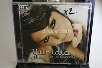 Yuridia  - Entre Mariposas, 2007 ,Music CD (NEW)