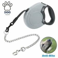 Idepet Heavy Duty Retractable Dog Leash For Small And Medium Dogs Anti Chewing