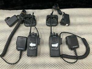 ICOM IC-41PRO 80 CHANNEL UHF TWO WAY RADIO X 2 - U54401 & U54403
