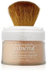 L'Oreal True Match Mineral Foundation ~ Choose From 12 SEALED SHADES