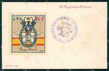 Militari Reggimentali 94º Reggimento Fanteria Brigata Messina cartolina XF5700