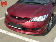 Front Lip Skirt Mugen Style Body Kit for Honda Civic 4D sedan 8th gen 2006-2008