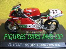 1/24 MOTO GP SERIE 1  DUCATI 998R 2002 RUBEN XAUS #11