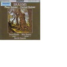 Brahms: Piano Quintet / Clarinet Quintet Bartok Quartet, Dezso Ranki Bela Kovacs