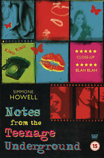 Howell Simmone-Notes From The Teenage Underground  BOOK NEW