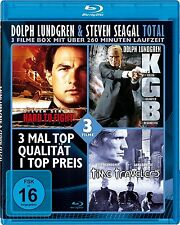 HARD TO FIGHT (Steven Seagal) + KGB + TIME TRAVELERS (Dolph Lundgren) Blu-ray