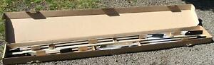 LR3 LR4 OEM Land Rover Silver/Chrome Extended Length Roof Rails Discovery 3 4