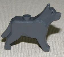 LEGO DARK BLUISH GREY WOLF DOG ANIMAL PIECE