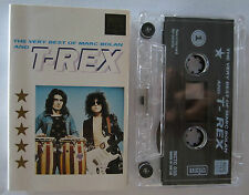 MARC BOLAN AND T REX THE VERY BEST OF MARC BOLAN AND T REX RARE CASSETTE TAPE